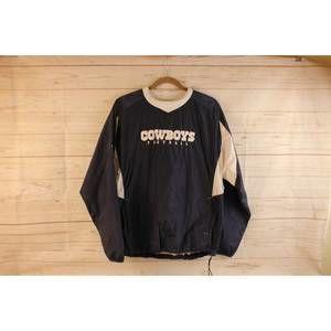 NFL Reebok Cowboys Jacket XL 18- 20 Youth Pullover